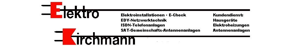 Elektro Kirchmann